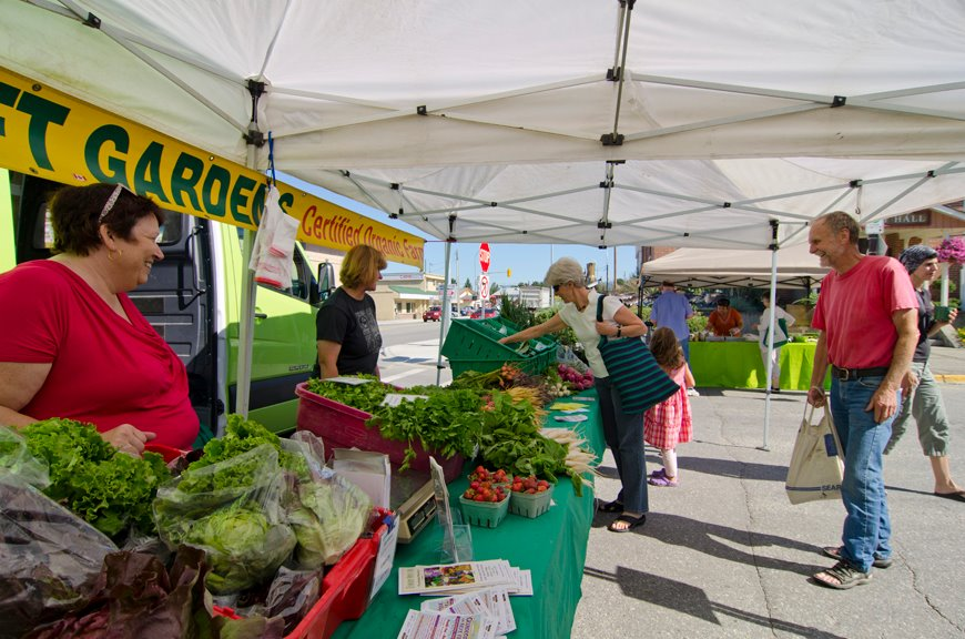Open Air Farmers Market