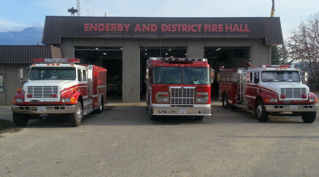 City of Enderby Fire Truck Fleet