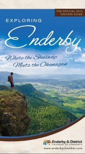 Exploring Enderby 2013 visitors guide cover