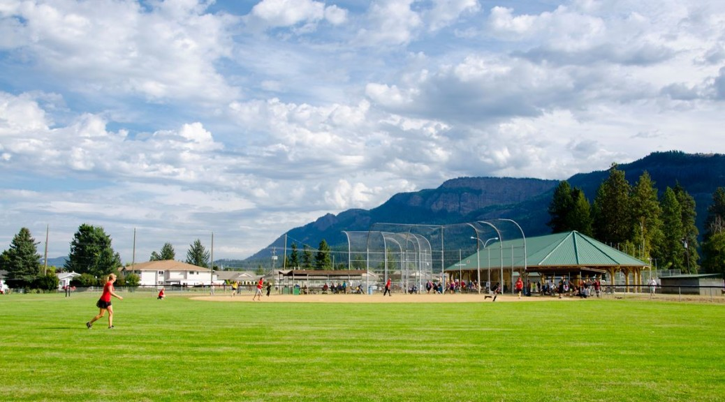 slow-pitch ball diamonds