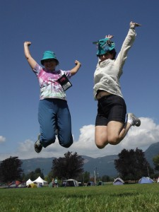 The Girl Guides get ready to SOAR in Enderby in 2014