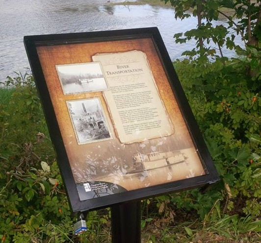Enderby's heritage interpretive signs, located along the Riverwalk, were re-written and re-designed in 2013 as part of the City's revitalization initiative. With thanks to the Enderby & District Heritage Commission for its contribution to this project!