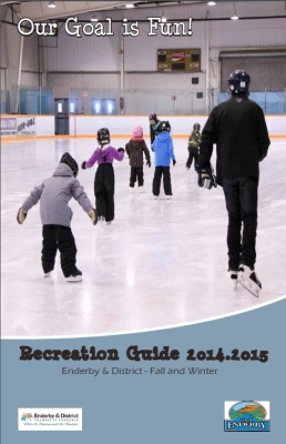 Recreation Guide Fall Winter 2014-15 cover