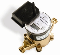 a typical Enderby residential water meter