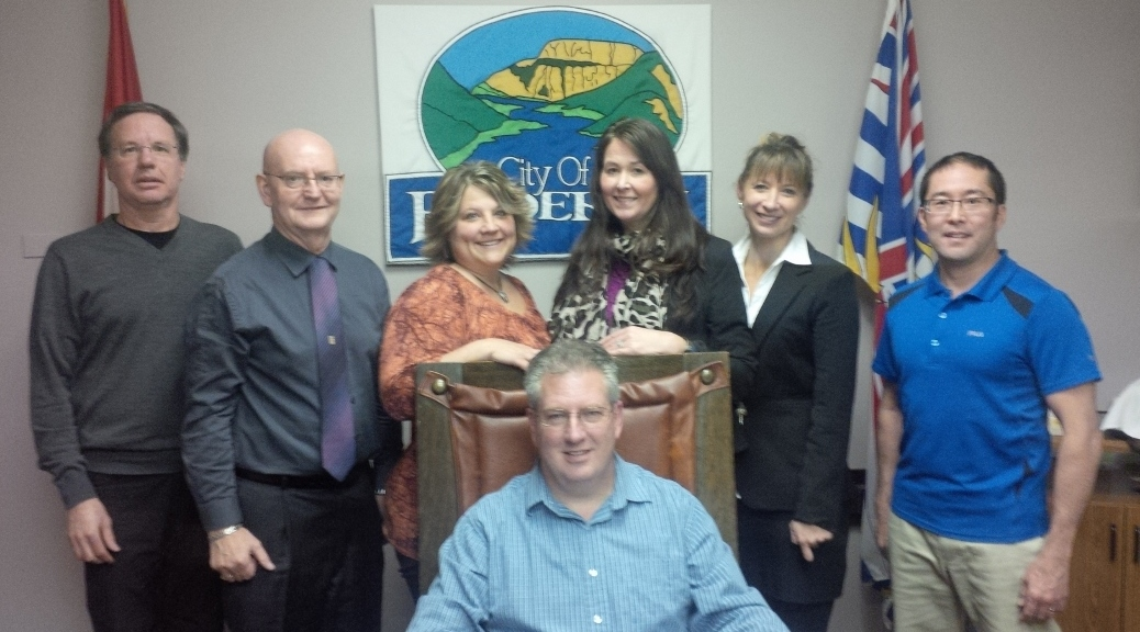 Mayor McCune and Enderby City Council