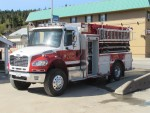 Enderby Fire Department Out in Force for Community Clean Up Day 2015