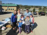 Families Pitch In at Community Clean Up Day in Enderby 2015