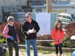 Mayor McCune at Community Clean Up