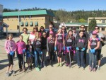 Minor Ball Team Pitches in at Enderby Community Clean Up in 2015