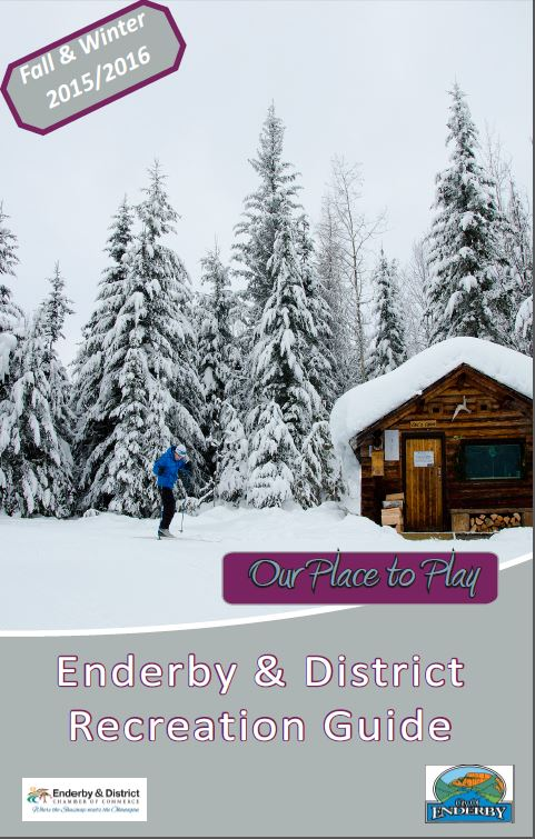 Enderby Recreation Guide Fall and Winter 2015-16