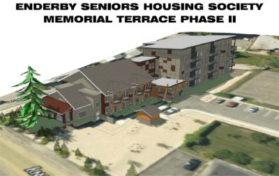 Enderby Memorial Terrace Phase 2 Concept Design