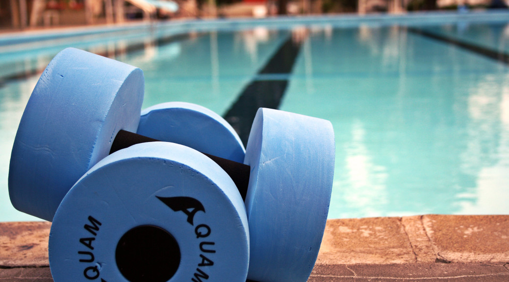 pool aquafit weights