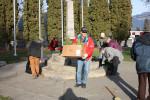 legion cleans cenotaph