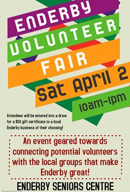 volunteer fair 2016 poster