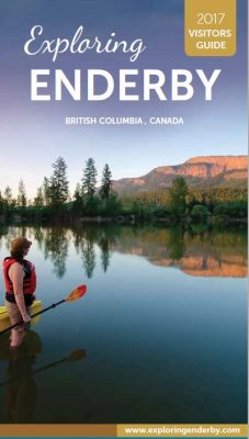 Exploring Enderby 2017 visitors guide cover