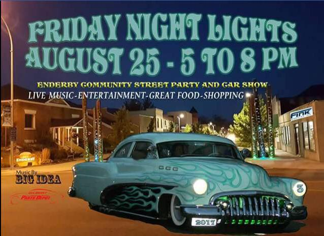 Friday Night Lights in Enderby 2017 poster